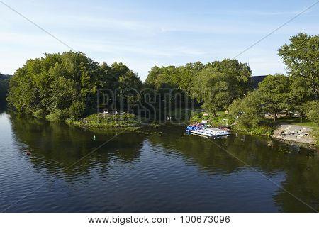Essen-werden (germany) - River Ruhr