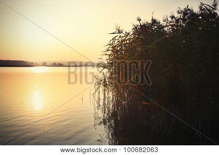 Sunset at Elk Lake