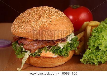 One Big Tasty Burger