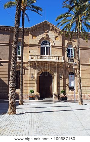 Episcopal palace, Almeria.