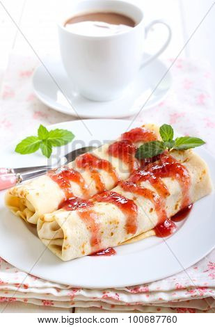 Pancakes With Filling