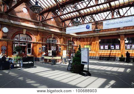 Moor Street Railway Station, Birmingham.