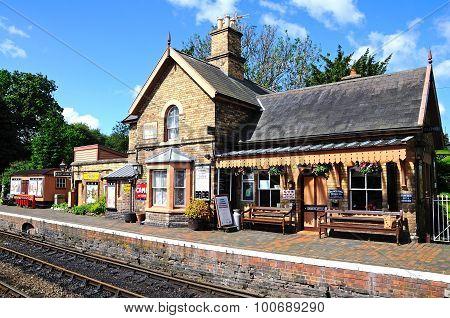 Hampton Loade Railway Station.