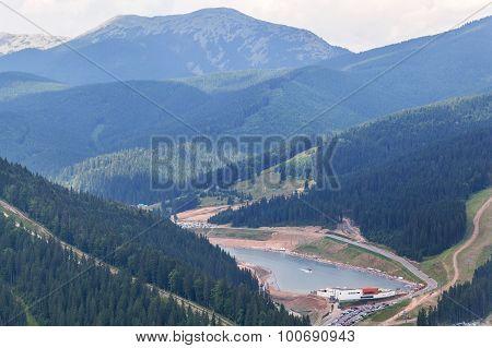 Bukovel Ski Resort From Top