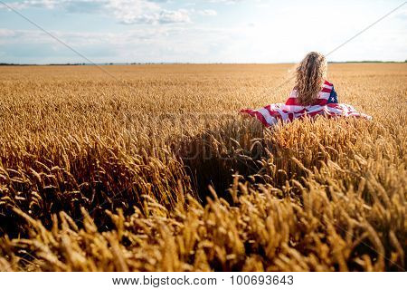 Beautiful Girl Enjoying Nature