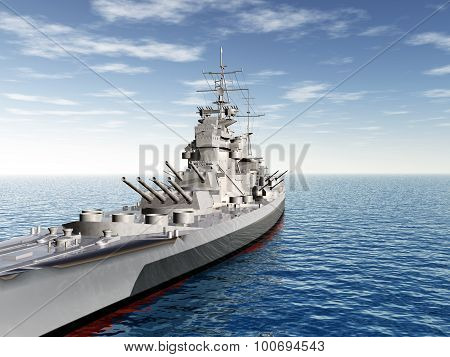 British warship of World War II