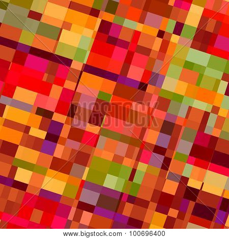Colorful shapes background. Red colors. Wall paper tiles. Virtual multi box image. Beautiful pic.