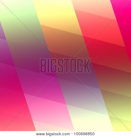 Abstract iridescent presentation background. Lined art. Cell block. Glossy glow. Pink color.