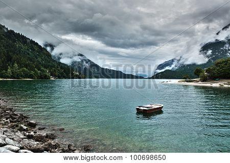 Lake Of Molveno, Trentino