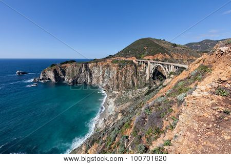 Bixby Bridge Big Sur California