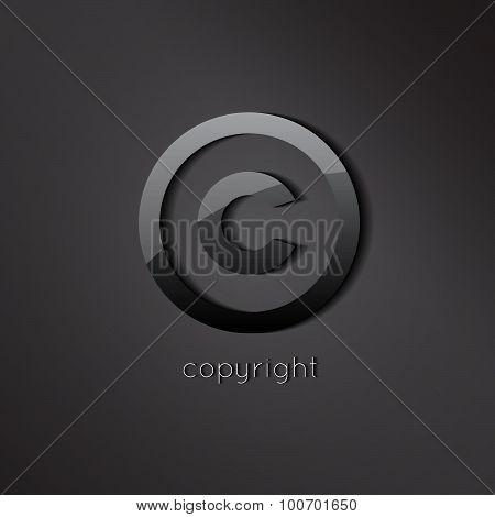 copyright cymbol