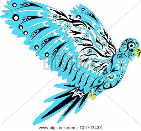Parrot blue