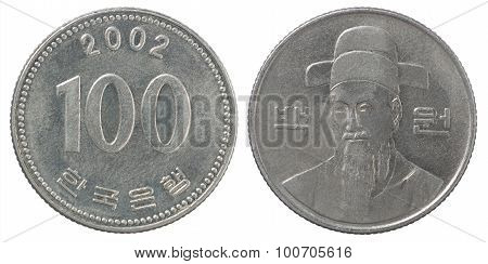 Korean Wons Coin