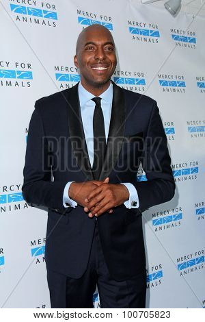 LOS ANGELES - AUG 29:  John Salley at the Mercy For Animals Hidden Heroes Gala at the Unici Casa on August 29, 2015 in Culver City, CA