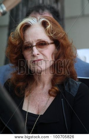 LOS ANGELES - AUG 27:  Bonnie Raitt at the Joe Smith Star on the Hollywood Walk of Fame at the Capital Records Building on August 27, 2015 in Los Angeles, CA