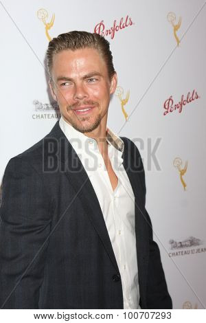 LOS ANGELES - AUG 30:  Derek Hough at the TV Academy Choreography Peer Reception at the Montage Hotel on August 30, 2015 in Beverly Hills, CA