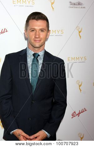 LOS ANGELES - AUG 30:  Travis Wall at the TV Academy Choreography Peer Reception at the Montage Hotel on August 30, 2015 in Beverly Hills, CA