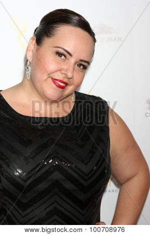 LOS ANGELES - AUG 30:  Tessandra Chavez at the TV Academy Choreography Peer Reception at the Montage Hotel on August 30, 2015 in Beverly Hills, CA
