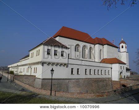 Spielberg castle in Brno