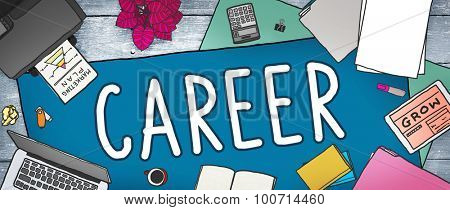 Career Work Job Employment Recruitment Concept