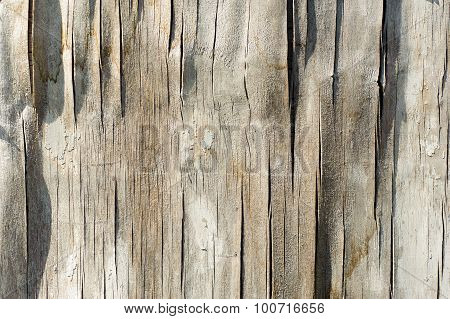 Old wooden texture, weathered obsolete rough textured. old plywood background