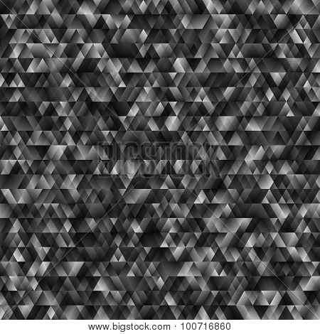 Abstract Monochrome Geometric Bsckground