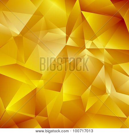 Abstract Gold Geometric Background
