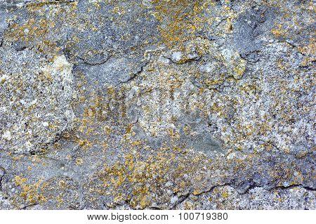 Rock stone texture, background closeup, wall.