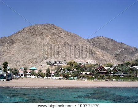 Eilat Coral Beach Of Red Sea 2005