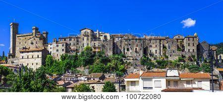 Bolsena - beautiful medieval town ,touristic attraction,Lazio, I