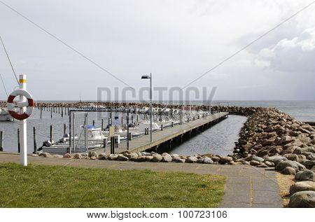 Denmark On Langeland Port