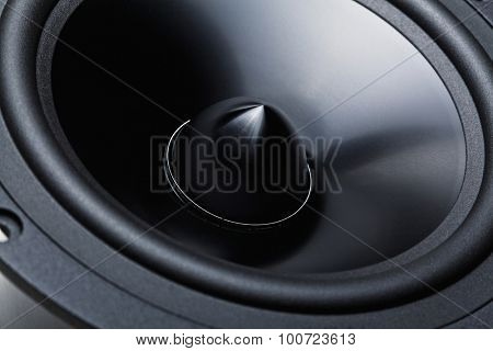 classic woofer speaker  background detail