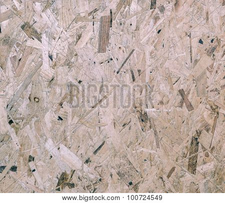 Recycled Compressed Wood Board Background