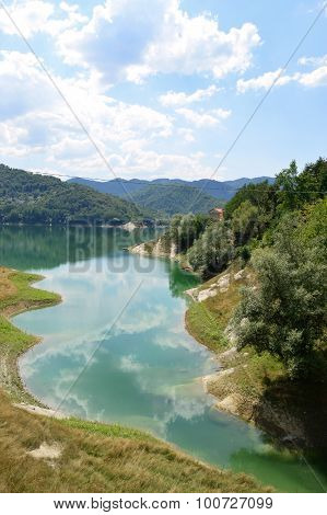 View Of The Lake Of Salto In Abruzzo, Italy 54