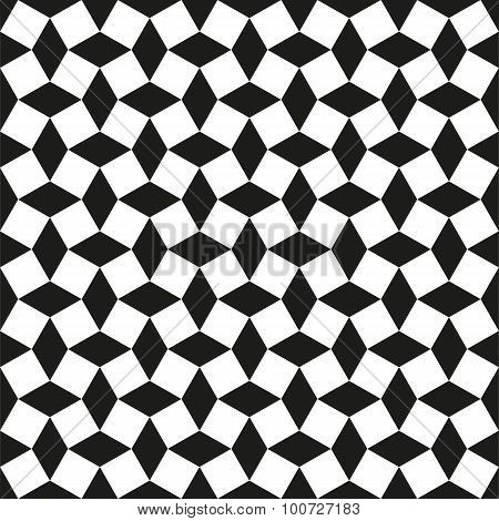 Seamless abstract intersecting diamond shape pattern background