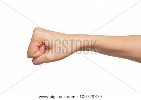 Woman fist