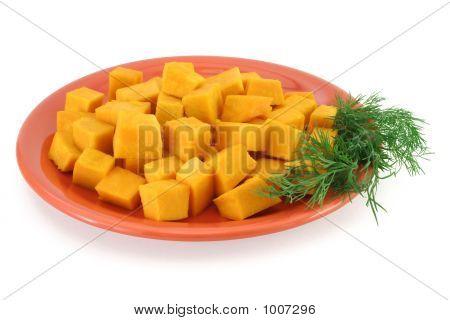 Pumpkin Plate - Healthy Food
