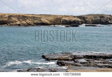 Dry Coastline Of Djeu