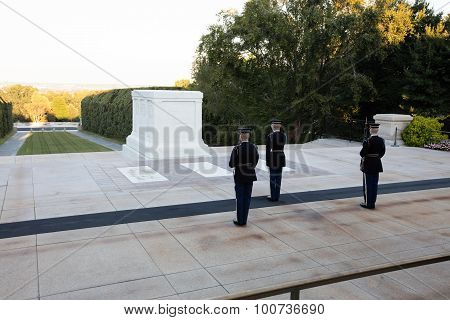 The Changing  Of Guard