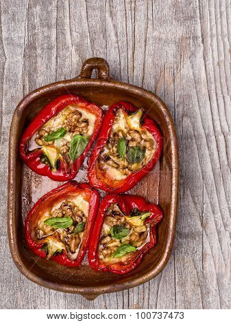 Rustic Roasted Bell Pepper