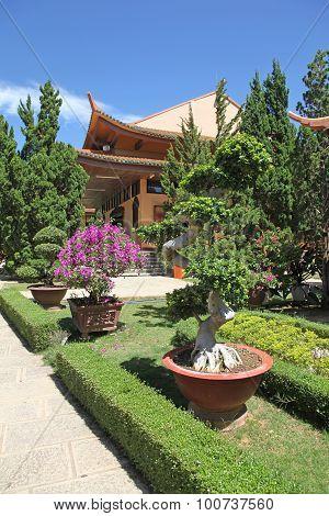 Monastery Dalat Vietnam