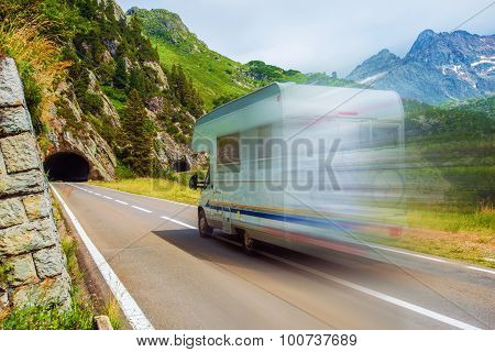 Speeding Camper