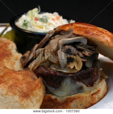 Mushroom Burger 2