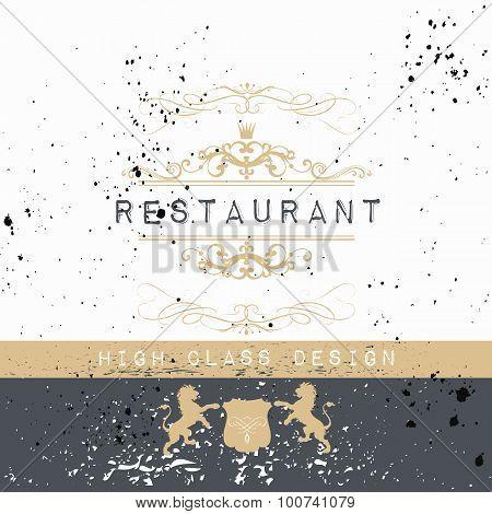 Elegant Frame Or Invitation Card For Design
