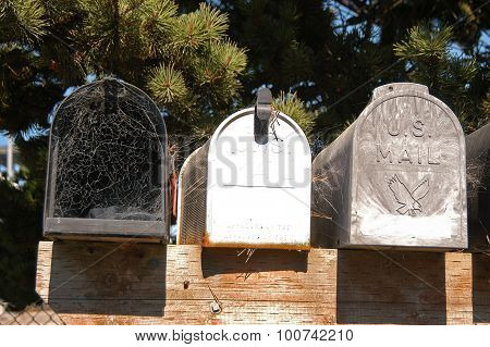unused mailboxes