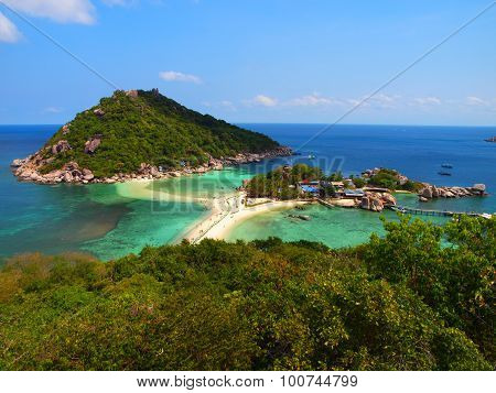 View Of Koh Nang Yuan