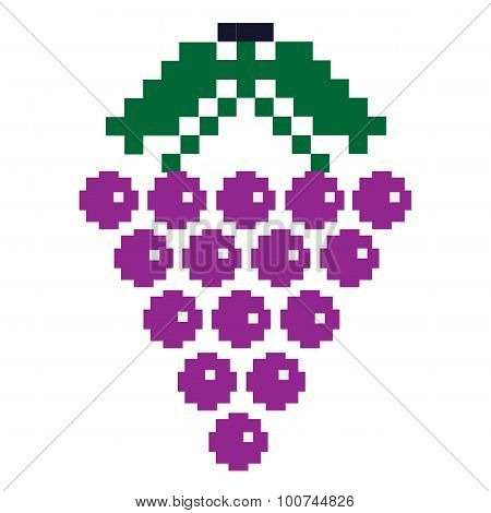 Pixelated Grapes