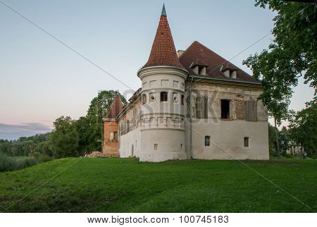 Manor House With A Tower