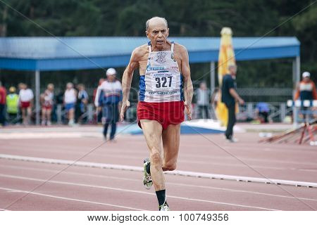 75 year old man runs