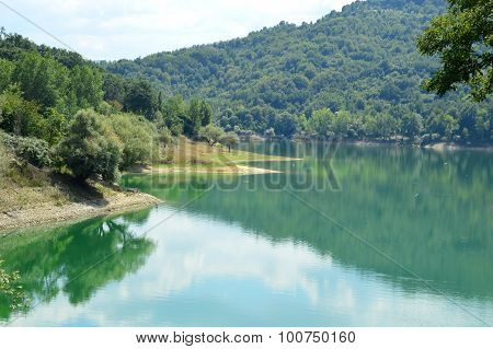 View Of The Lake Of Salto In Abruzzo, Italy 57